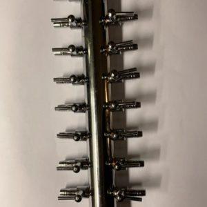 Förgrening i metall - 18-väg - syrepump