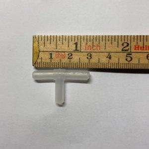 T-koppling 4 mm syreslang