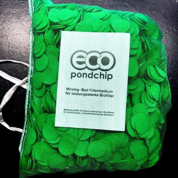 Eco Pondchip30, biologiskt aktiverbar yta 78 m²