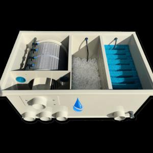 Ilex Biodrum 20 Trumfilter inkl. filtermattor-del