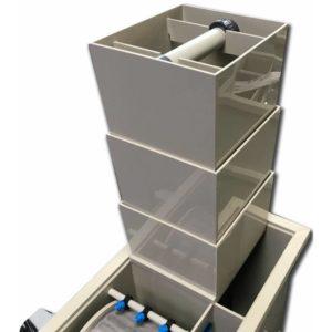 Makoi BioShower Small för BioDrum 30