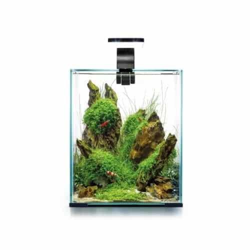 Akvarium Shrimp Set Day&Night 19L Svart