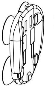 Hållare Fan-2-3