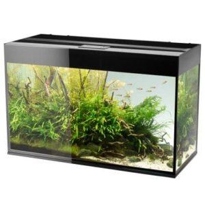 Akvarium Glossy 472L Svart