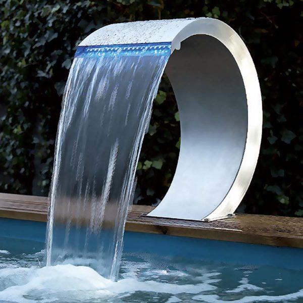 Vattenfall Cobra (Mamba) med LED 31 cm