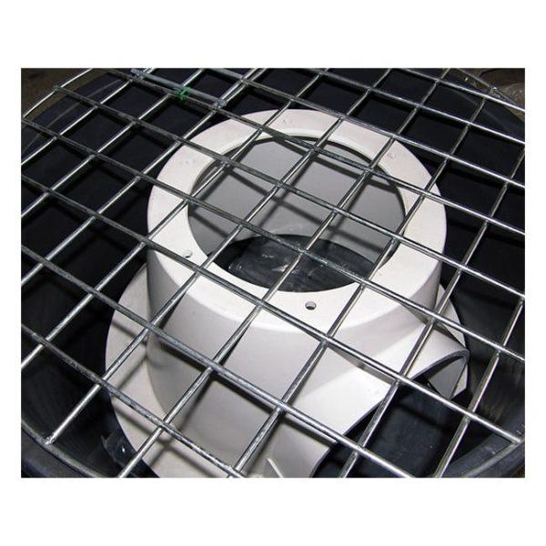 Glasfiberstøtte 500 kg. 66/90 låg