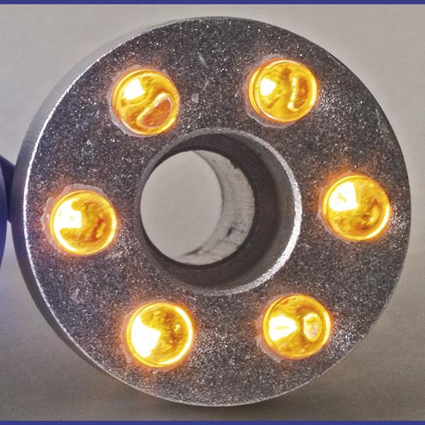 LED ring 6 dioder gul EJ trafo