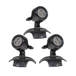 LED Spot Power 3W - 3 pack plast