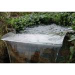 Vattenfall Brisbane rostfrit 60 cm