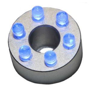 LED ring 6 blå med trafo