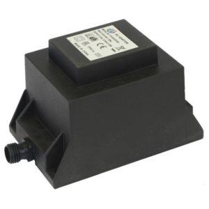 Transformator IP44, 12v, 36W, inkl trev