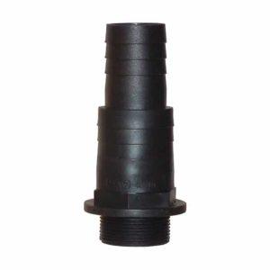 """Gängad universaladaptor 2"""" x 50- 63 mm"""