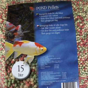 Pond Pellets (Granulat light) 15 lite