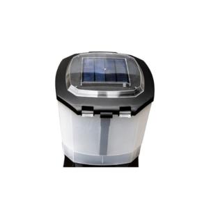 Foderautomat med solpanel/batteri