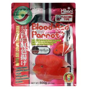 HIKARI BLOOD-RED PARROT PLUS MEDIUM 600 g
