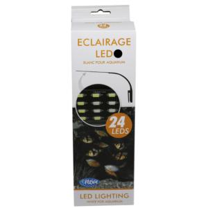 LEDBELYSNING PACIFIC SVART 24 LEDS