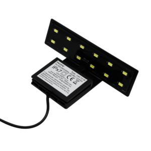 LEDBELYSNING PACIFIC SVART 12 LEDS
