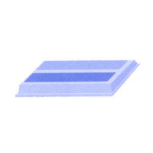 LUCKSATS REKORD 60.70 SVART L48.3cm x B8.2cm