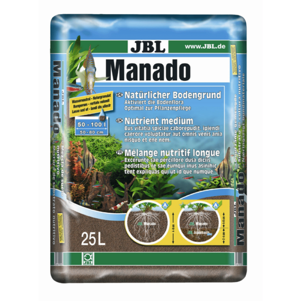 AKVARIEGRUS MANADO JBL 25 l