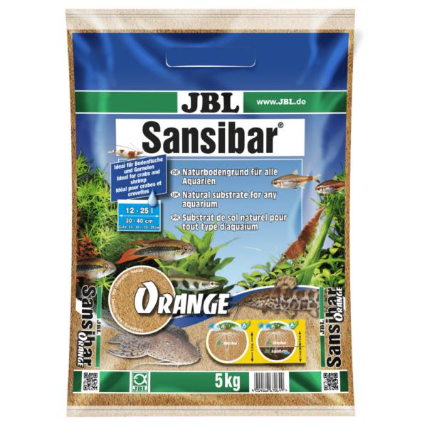 AKVARIEGRUS SANSIBAR ORANGE JBL 5 kg