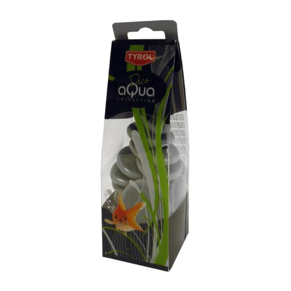 AKVARIESTEN GREY PEBBLES DECOR TYROL 400 g