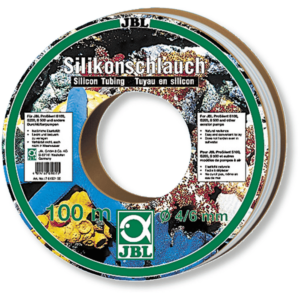 LUFTSLANG SILIKON 100 M RULLE JBL 6/4 mm