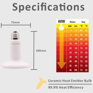 Zoo Med Ceramic Heat Emitter 60W