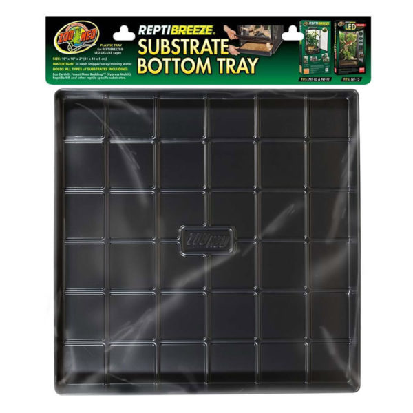 Zoo Med ReptiBreeze Substrate Tray for NT-10 & 11 (41x41cm)