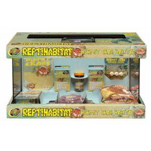 Zoo Med ReptiHabitat Hermit Crab Kit With Terrarium 51x25x30
