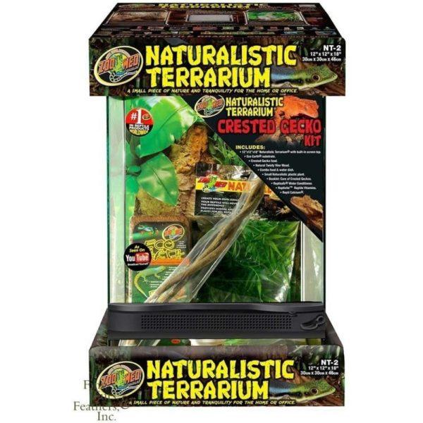 Zoo Med Terrarium Crested Gecko Kit with Terrarium